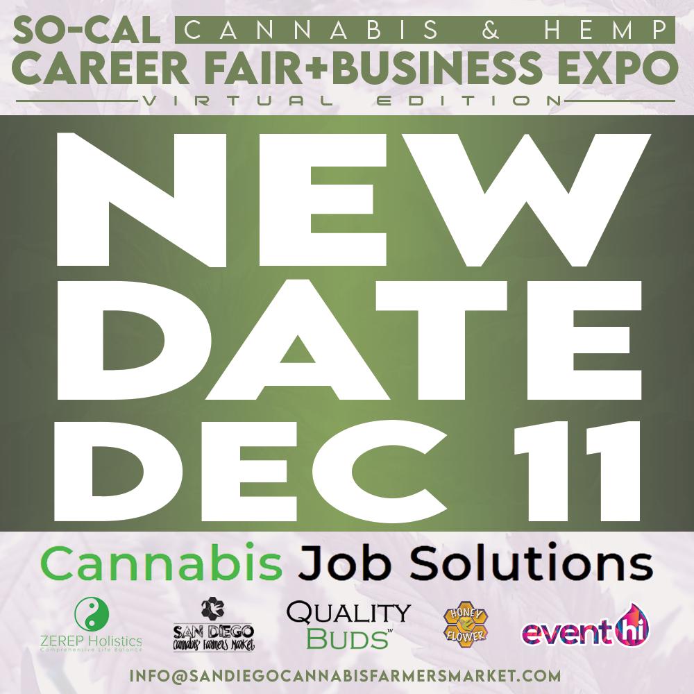 SoCal Cannabis Career Fair and Business Expo December 2021